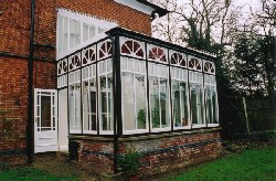 The beautiful remake by Heritage Conservatories