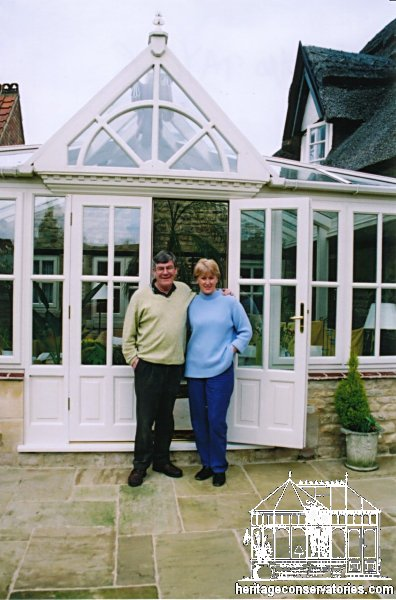 Mr and Mrs Taylor's conservatory