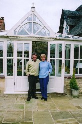 Mr & Mrs Taylor's conservatory