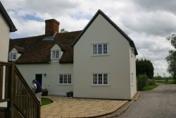 With this listed farmhouse the solid roof approach was the most acceptable.