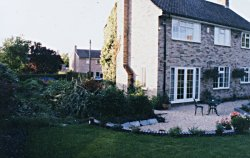 A lounge extension was required with a pan tiled roof but with a bit more style and pizzaz than a convential extension. Before Garden Room view