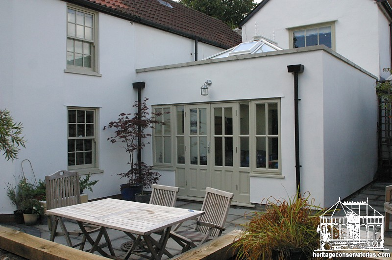 Kitchen extensions project 2 heritage conservatories for Orangery extension kitchen