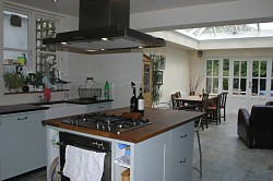 View kitchen extension project 2