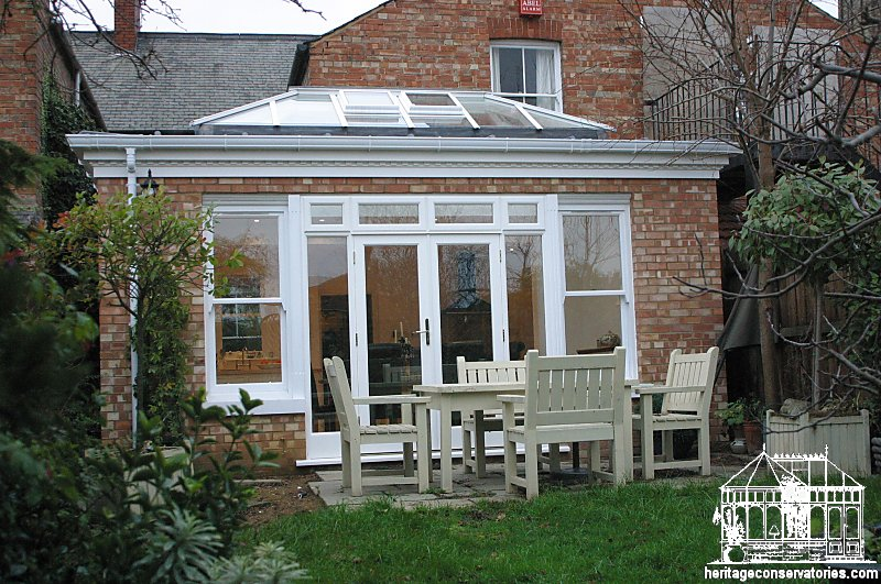 After the new orangery