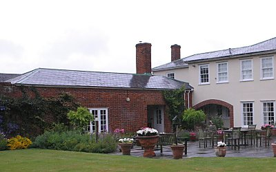 The house before the orangery